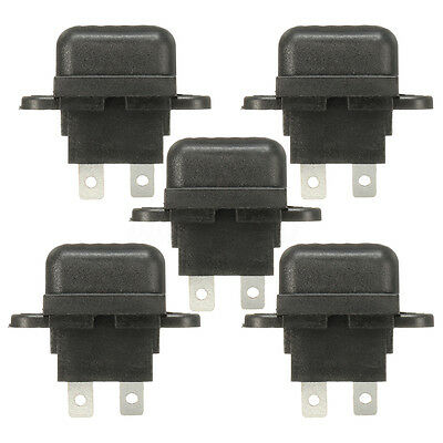 5PCS 30A Amp Auto Blade Standard Fuse Holder Box For Car Boat Truck With Cover Q