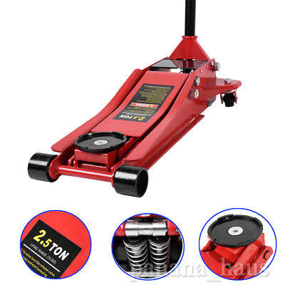 2.5 Ton Heavy Duty Low Profile Vehicle Car Garage Trolley Lift Lifting Jack