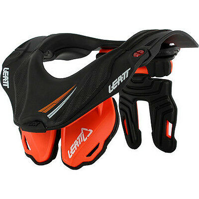 New LEATT Youth GPX5.5 Neck Brace ORANGE BLACK GPX 5.5 MX Motocross Motorbike