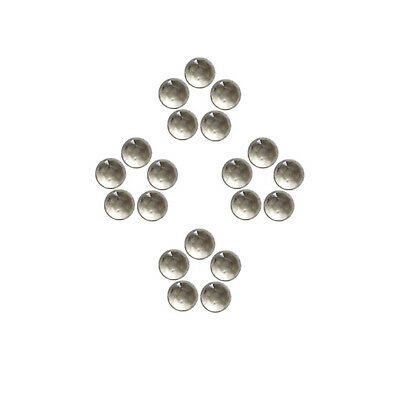 Natural Smokey Quartz 5x5 mm to 7x7 mm Round Shape Faceted Cabochon Gemstones