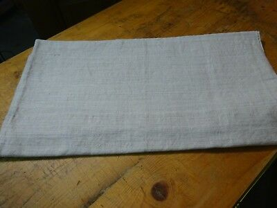 Antique European Linen, Hemp,Flax Homespun Linen Sheet 78'' x 52'' # 9300
