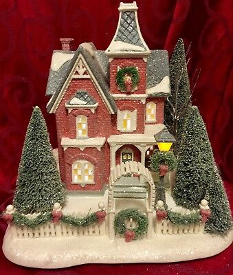 Ultra Rare 2008 DEPT Department 56 WINTERS FROST Snow Village NICOLETTE HOUSE