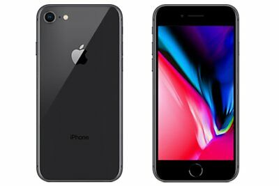 Neuf Apple iPhone 8 A1863 64Go Space Gris Factory Unlocked+Gift 2 Ans Garantie