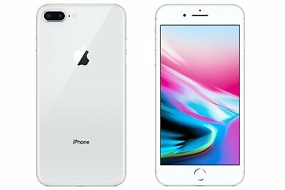 Neuf Apple iPhone 8 Plus A1864 256Go Silver Factory Unlocked+Gift 2 Ans Garantie