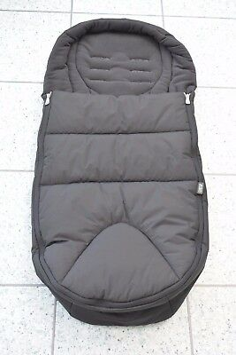 Mamas and Papas M&P Black Cold Weather PLUS Universal Footmuff Cosytoes