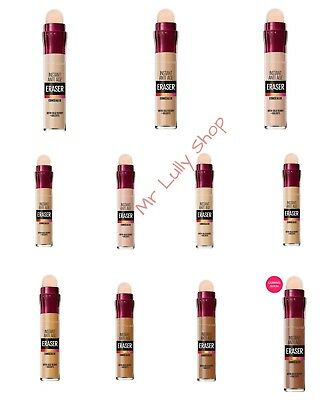 Maybelline Instant Age Rewind Concealer Eraser Eye Dirk Circle Treatment Sealed