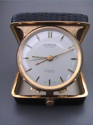 Vintage Montre COSMOS ALARM  Watch Swiss Made