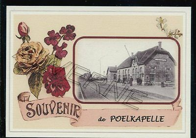 POELKAPELLE    - gare souvenir creation moderne - serie limitee numerotee