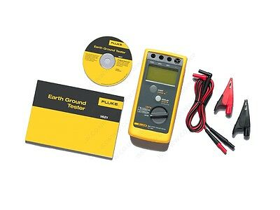 Fluke 1621 Geo Earth Ground Tester - Unused In Box - 2 And 3 Pole - C/w Cal Cert