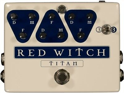 "Red Witch Titan Analog Delay ""B-Stock"""
