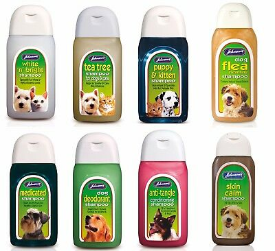 Johnsons Dog Shampoo 125ml