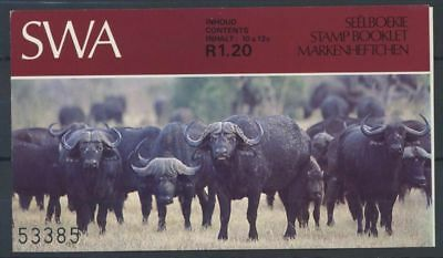 South West Africa 1985 Mi. 570 Booklet 100% Mammals