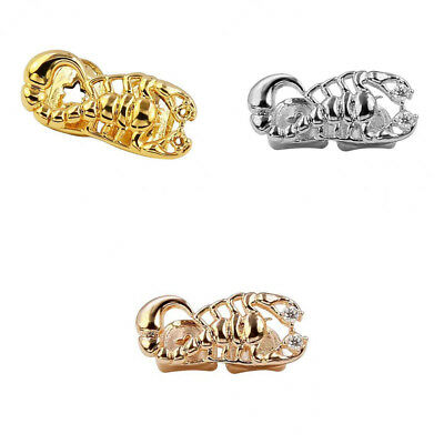 Halloween Scorpion Shape 18K Gold Single Tooth Grill Cap Silicone Mold Kit