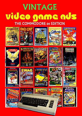 Vintage Video Game Ads Commodore 64 Edition - Over 1000 Vintage Ads - Ebook DVD