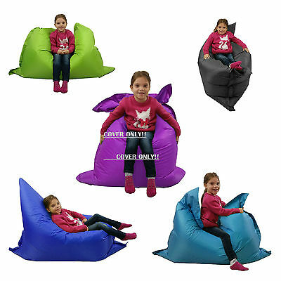 Large Kids Bean Bag COVER ONLY indoor/Outdoor Beanbag Childrens Waterproof Chair