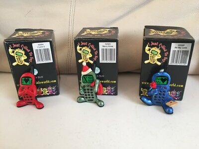 I JUST CALLED TO SAY FIGURES JOB LOT OF 3x RETAIL BOXED COLLECTABLE L@@K FREE PP