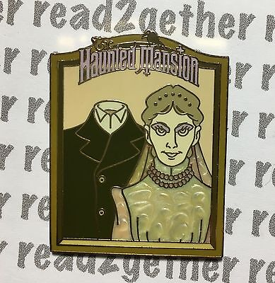 Disney Pin DLR Booster New Orleans Square Haunted Mansion Constance
