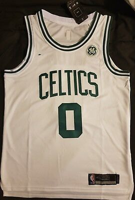 NBA Jayson Tatum Boston Celtics Jersey 2017-18 New Design - Medium - Aus Seller