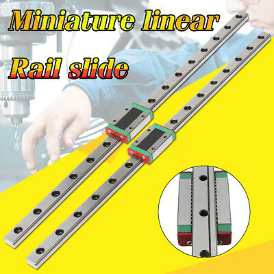 12mm Linear Rail Guide Slide MGN 450mm Length Miniature with MGN12H Linear Block