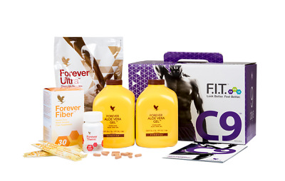 FOREVER LIVING - Clean 9 Pack - C9 Kit Cleanse 9 Day - Chocolate / Vanilla NEW