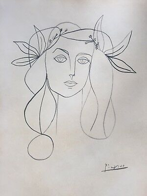 Picasso Ink Drawing