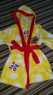 teletubbies dressing gown 18-24 months