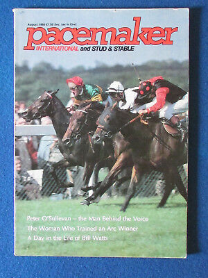 Pacemaker Magazine - August 1980 - Royal Ascot Cover