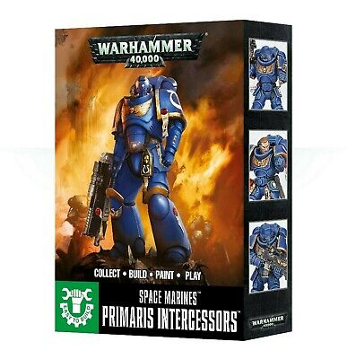 Easy To Build Primaris Intercessors Games Workshop Warhammer 40,000 New