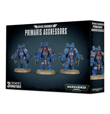 Space Marines Primaris Aggressors Games Workshop Warhammer 40,000 Brand New