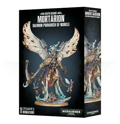 Death Guard Daemon Primarch Mortarion Games Workshop Warhammer 40,000 Brand New