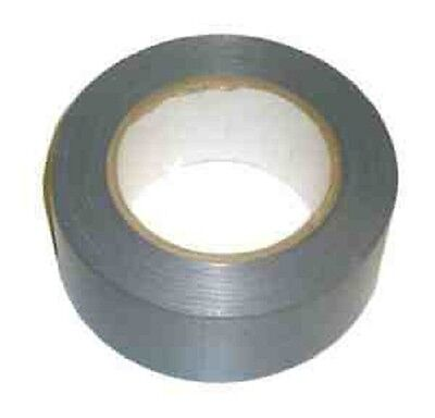 Silver strong Gaffa black cloth tape size :- 50mm X 50M