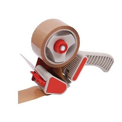 Brand new 50mm Carton Sealer gun tape dispenser RED