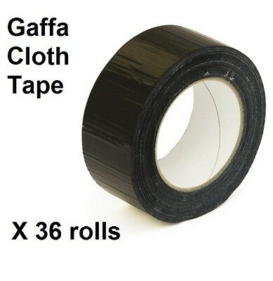 ***special offer***36 rolls of Gaffa cloth extra strong tape