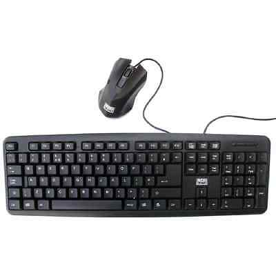 BRAND NEW UK FULL Size USB Keyboard and   Mouse Combo For PC