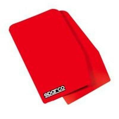 Sparco 03791RS Bavette Garde-Boue Universel, Rouge