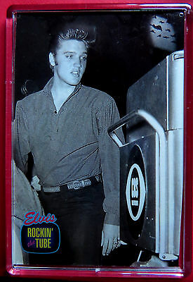 Elvis Presley Fridge Magnet Rockin'  Ed Sullivan The Tube Trading Card Series 2