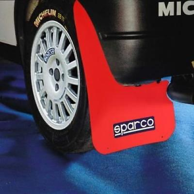 Sparco Rally 1 Paire de garde-boue, rouge