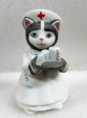 Kitty Cucumber ~ Nurse Ellie Caretaker Caregiver ~ Porcelain Figurine