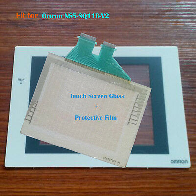 for Omron NS5-SQ11B-V2 Touch Screen Glass + Protective Film 1 Year Warranty