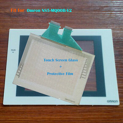 OMRON NS5-SQ10-V2 NS5-MQ00B-V2 Touch Screen Digitizer Glass