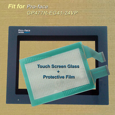 for Pro-face GP477R-EG41-24VP Touch Screen Glass + Protective Film