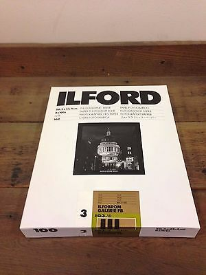 Ilford Gallery Matte Grade 3 8x10 100 sheets