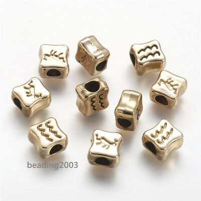 TB021 LARGE HOLE TIBETAN SILVER ROUND RONDELLE SPACER BEADS mm 5PCS 10