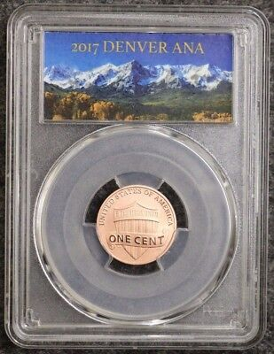 2017 S Enhanced Lincoln Cent PCGS SP70 First Day of Issue DENVER ANA