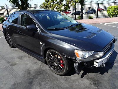 2010 Mitsubishi Lancer Evolution 2010 Mitsubishi Lancer Evolution Salvage Wrecked Repairable! Priced To Sell!