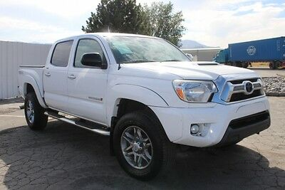 2013 Toyota Tacoma Double Cab V6 PreRunner 2013 Toyota Tacoma Double Cab V6 PreRunner Damaged Salvage Perfect Project L@@K!