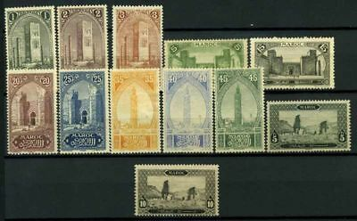 Morocco 1917 Yv. 63-66,68-70.. MH 100% Monuments **/*
