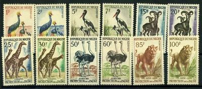 Niger 1959 Mi. 1-12 MNH 100% The protection of the animals