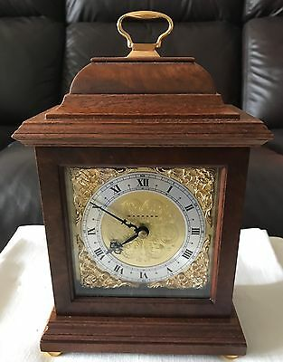 Garrard Mahogany 8 Day Mantle Carriage Clock