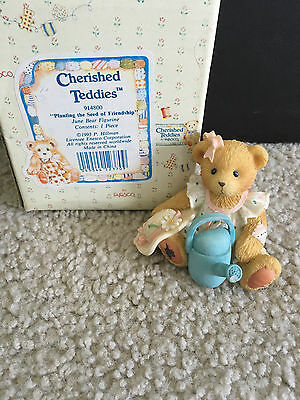 """Cherished Teddies """"Planting the Seed of Friendship"""" 914800"""